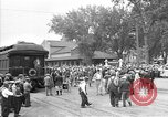 Image of President Franklin Roosevelt Bismarck North Dakota USA, 1936, second 11 stock footage video 65675053292