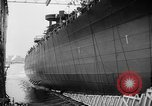 Image of cruiser USS Santa Fe CL-60 Camden New Jersey USA, 1942, second 5 stock footage video 65675053297