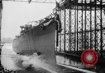 Image of cruiser USS Santa Fe CL-60 Camden New Jersey USA, 1942, second 12 stock footage video 65675053297