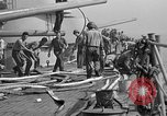 Image of USS Savanna CL-42 Salerno Italy, 1943, second 12 stock footage video 65675053302