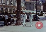 Image of United States sailor Cannes France, 1950, second 11 stock footage video 65675053315