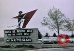 Image of Minuteman II missile Ogden Utah USA, 1965, second 2 stock footage video 65675053325
