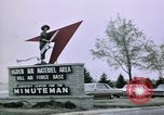 Image of Minuteman II missile Ogden Utah USA, 1965, second 3 stock footage video 65675053325