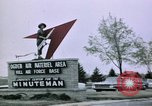 Image of Minuteman II missile Ogden Utah USA, 1965, second 5 stock footage video 65675053325
