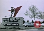 Image of Minuteman II missile Ogden Utah USA, 1965, second 6 stock footage video 65675053325