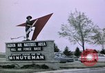 Image of Minuteman II missile Ogden Utah USA, 1965, second 7 stock footage video 65675053325