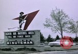 Image of Minuteman II missile Ogden Utah USA, 1965, second 8 stock footage video 65675053325