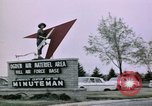 Image of Minuteman II missile Ogden Utah USA, 1965, second 10 stock footage video 65675053325