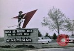 Image of Minuteman II missile Ogden Utah USA, 1965, second 11 stock footage video 65675053325