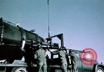 Image of Titan II missile McConnell Air Force Base Kansas USA, 1965, second 5 stock footage video 65675053326