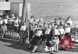 Image of British girls Atlantic Ocean, 1946, second 1 stock footage video 65675053341