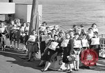 Image of British girls Atlantic Ocean, 1946, second 2 stock footage video 65675053341
