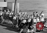 Image of British girls Atlantic Ocean, 1946, second 3 stock footage video 65675053341