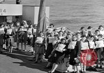 Image of British girls Atlantic Ocean, 1946, second 4 stock footage video 65675053341