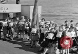 Image of British girls Atlantic Ocean, 1946, second 5 stock footage video 65675053341