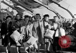 Image of British girls Atlantic Ocean, 1946, second 9 stock footage video 65675053341