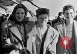 Image of British girls Atlantic Ocean, 1946, second 12 stock footage video 65675053341