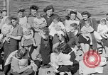 Image of American soldiers Atlantic Ocean, 1946, second 9 stock footage video 65675053342