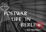 Image of recreational activities Berlin Germany, 1945, second 1 stock footage video 65675053376
