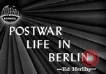 Image of recreational activities Berlin Germany, 1945, second 4 stock footage video 65675053376