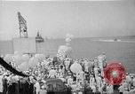 Image of Pacific Battle fleet Diamond Head Hawaii USA, 1945, second 6 stock footage video 65675053377