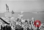 Image of Pacific Battle fleet Diamond Head Hawaii USA, 1945, second 7 stock footage video 65675053377