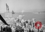Image of Pacific Battle fleet Diamond Head Hawaii USA, 1945, second 8 stock footage video 65675053377