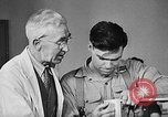Image of Canadian World War 2 veterans learning trades Toronto Ontario Canada, 1945, second 10 stock footage video 65675053385