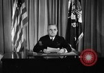 Image of President Truman announces German surrender on VE Day United States USA, 1945, second 5 stock footage video 65675053386