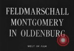 Image of Field Marshal Montgomery Oldenburg Germany, 1945, second 2 stock footage video 65675053403