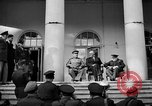 Image of Franklin Roosevelt at Tehran Conference Tehran Iran, 1943, second 7 stock footage video 65675053420