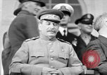 Image of Big Three leaders at Tehran Conference Tehran Iran, 1943, second 1 stock footage video 65675053421