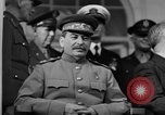 Image of Big Three leaders at Tehran Conference Tehran Iran, 1943, second 2 stock footage video 65675053421