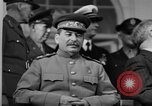 Image of Big Three leaders at Tehran Conference Tehran Iran, 1943, second 3 stock footage video 65675053421