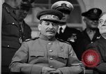 Image of Big Three leaders at Tehran Conference Tehran Iran, 1943, second 6 stock footage video 65675053421