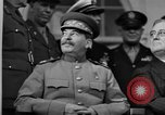 Image of Big Three leaders at Tehran Conference Tehran Iran, 1943, second 8 stock footage video 65675053421