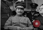 Image of Big Three leaders at Tehran Conference Tehran Iran, 1943, second 9 stock footage video 65675053421