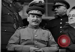 Image of Big Three leaders at Tehran Conference Tehran Iran, 1943, second 10 stock footage video 65675053421