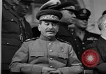 Image of Big Three leaders at Tehran Conference Tehran Iran, 1943, second 12 stock footage video 65675053421