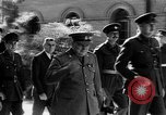 Image of Winston Churchill birthday Tehran Iran, 1943, second 8 stock footage video 65675053423