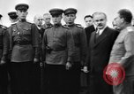 Image of Winston Churchill Tehran Iran, 1943, second 2 stock footage video 65675053424