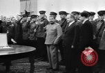 Image of Winston Churchill Tehran Iran, 1943, second 11 stock footage video 65675053424