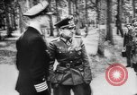 Image of Adolf Hitler Rastenburg East Prussia, 1941, second 10 stock footage video 65675053441