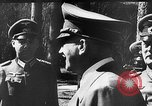 Image of Adolf Hitler Rastenburg East Prussia, 1943, second 8 stock footage video 65675053443