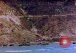 Image of Rocky shoreline Okinawa Pacific Theater Kerama Retto, 1945, second 6 stock footage video 65675053456