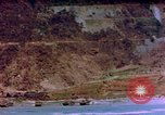 Image of Rocky shoreline Okinawa Pacific Theater Kerama Retto, 1945, second 8 stock footage video 65675053456