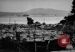 Image of Japanese barge Okinawa Ryukyu Islands, 1945, second 5 stock footage video 65675053475