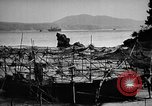 Image of Japanese barge Okinawa Ryukyu Islands, 1945, second 6 stock footage video 65675053475