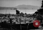 Image of Japanese barge Okinawa Ryukyu Islands, 1945, second 7 stock footage video 65675053475
