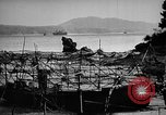 Image of Japanese barge Okinawa Ryukyu Islands, 1945, second 9 stock footage video 65675053475